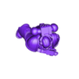 3_Normal_1.stl Download free STL file Space Soldiers with Fist Symbols • Object to 3D print, PhysUdo