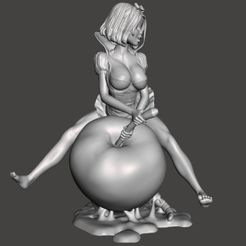 Image1.jpg Download STL file Snow and the Giant Apple Part 1 - by SPARX • Template to 3D print, wikd2011