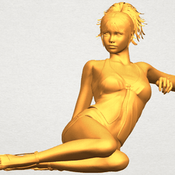 A01.png Download free file Naked Girl F08 • 3D printable design, GeorgesNikkei