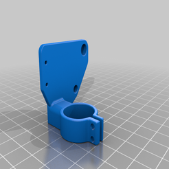 FINAL-TronxyX5s-ABL-XEndstop-Mount.png Download free STL file Tronxy X5s Inductive Probe and X endstop mount for Fang Cooler • Design to 3D print, hartk1213