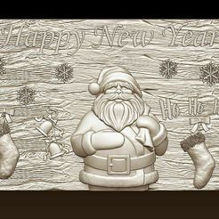 d759.jpg Download STL file Merry Christmas Holiday Santa Claus Happy New Year Xmas Christmas Day 3D Models  • 3D print object, 3DCNCMODELS