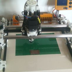 001.jpg Download free STL file CNC milling machine with LCD screen and SD card reader Firmware Marlin or GRBL • 3D printer template, jpwild