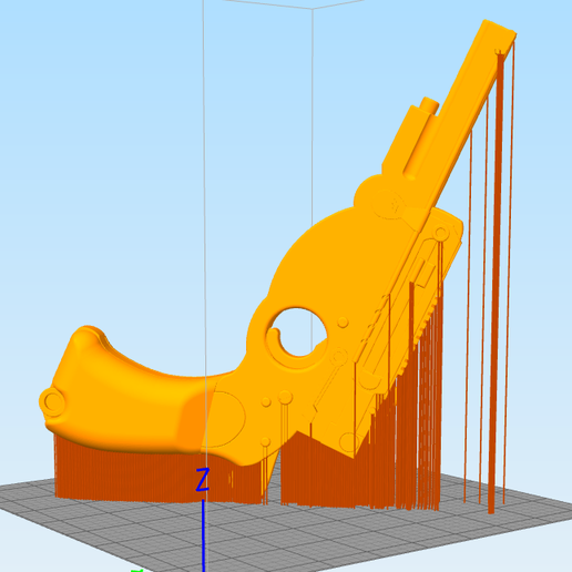Mandalorian Slice.PNG Download STL file Mandalorian Rubberband Gun • 3D printable model, WW3D