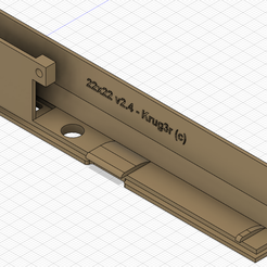 Amiga-500-Expansion-Cover-RGB2HDMI-22x22-Push-Button-v2.4-01.png Download STL file Amiga 500 Expansion Cover RGB2HDMI FPV model 3 • 3D printing design, krug3r