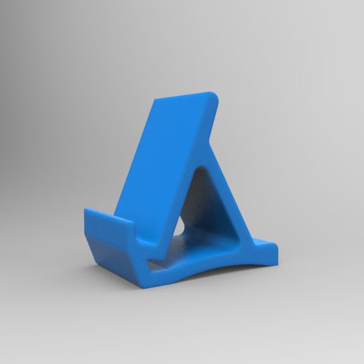 isometric view stand.jpg Download free STL file Simple Stand v1.0 • 3D printing object, Milanorage