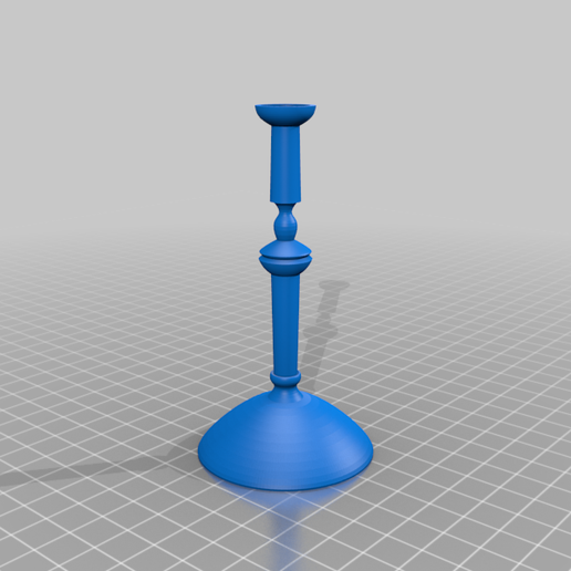 candle2.png Download free STL file Candlestick • 3D printable template, bozicpepsi