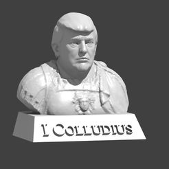 60c96889fe8b3653ee80e43790b9f9f4_display_large.jpg Download free STL file Trump Bust • 3D printing model, cody5