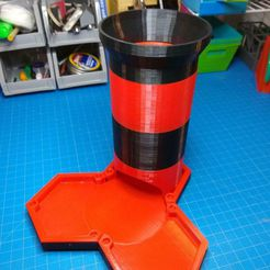 IMG_20190622_100503151.jpg Download free STL file Hex Tile Dice Tower • 3D printing object, smithri