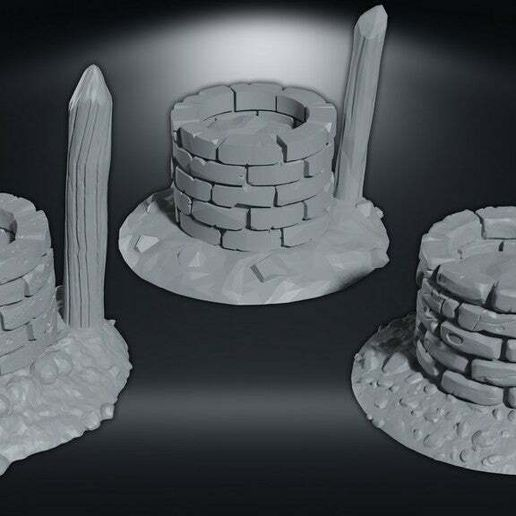 br-render-ed.jpg Download free STL file 3 Well, 3 style • 3D print object, CarlCreates