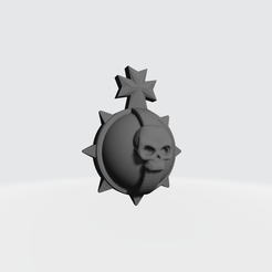 HOLY_HAND_GRANADE.png Download free STL file Holy Hand Grenade for Black knights of the temple • Template to 3D print, VitalyKhan