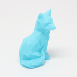 Capture_d__cran_2015-07-23___11.13.40.png Download free STL file Low Poly Fox • 3D printer template, RubixDesign