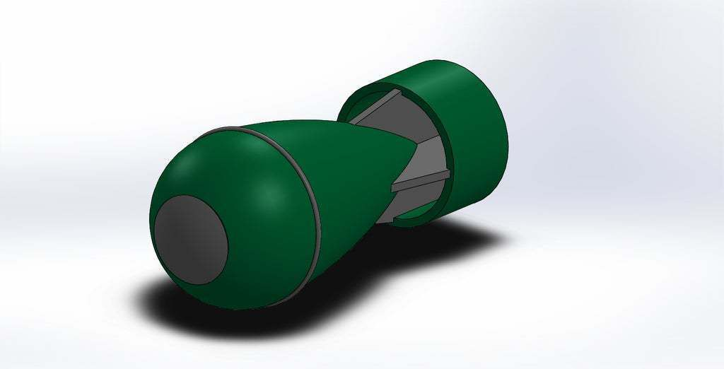 bomb_Α2.JPG Download free STL file Bomb A collection (no supports needed) • Model to 3D print, Boubamazing