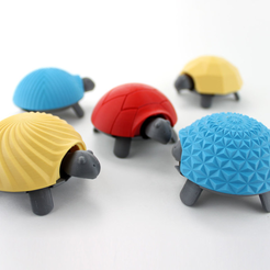 Capture d'écran 2017-04-12 à 10.05.08.png Download free STL file Squishy Turtle • 3D print template, jakejake