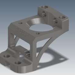 CR83D Z Axis Stepper Motor Mount.jpg Download STL file Ender Z Axis Stepper Motor Mount • 3D printable design, CR83D