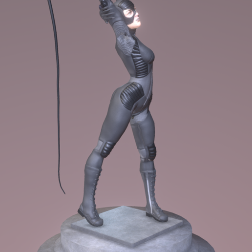 3.png Download free STL file catwoman • 3D printable object, diegolopez266