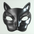 carnival _mask_20_04_0007.png Download STL file Carnival Mask Collection 7 pieces Masquerade facewear • 3D print template, polygonface