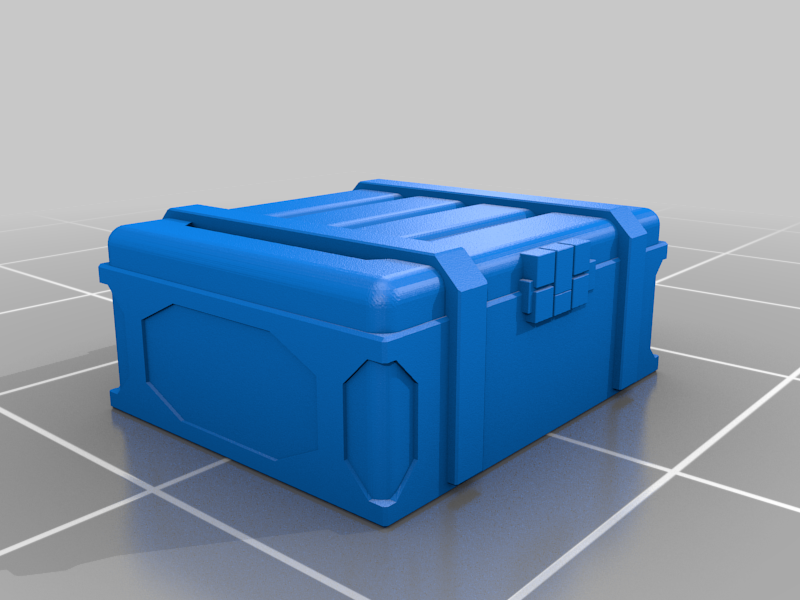 MagCrate_Small_8.png Download free STL file Numeric Objective Markers: Small Mag-Crate • Object to 3D print, Dutchmogul