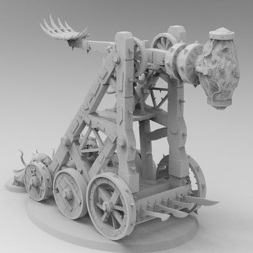 Plagueclaw thumb.jpg Download free 3MF file Pox Catapult • 3D printing model, EmanG