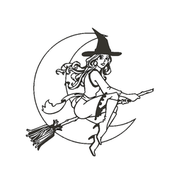 witch1a.png Download STL file Pretty Witch • 3D printer model, miguelonmex