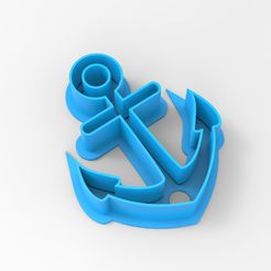 untitled.78.jpg Download STL file ANCHOR COOKIE CUTTER ANCHOR • 3D print object, emilianobene94