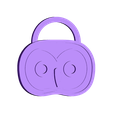 Tag_Keyring_Owl.stl Download free STL file Critter Tags • 3D printing template, TeamOutdoor