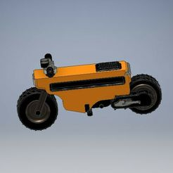 041_motocompo_041.jpg Download STL file Motocompo Brat Style Diecast 1:64 Scale • 3D printer model, PWLDC