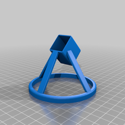 3D_Pen_Stand_45v2.png Download free STL file MYNT3D Printing Pen Stand • 3D printer template, qwiktune