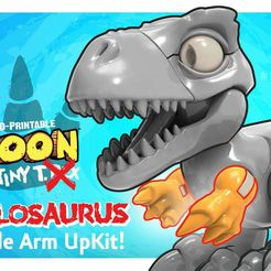 Boon_Allosaurus_6.jpg Télécharger fichier STL gratuit (Armes uniquement) Boon the Tiny T. Rex : Allosaurus UpKit - 3DKitbash.com • Modèle pour imprimante 3D, Quincy_of_3DKitbash