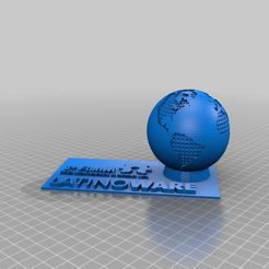 latinoware-Plane.png Download free STL file Latinoware Makers Bust • Model to 3D print, ELRAZ