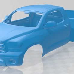 foto 1.jpg Download STL file Toyota Tundra Regular Cab 2011 Printable Body Car • 3D printer template, hora80