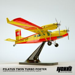 Twin porter 2.jpg Download free STL file TWIN PORTER (Aircraft Concept) • 3D printable model, guaro3d