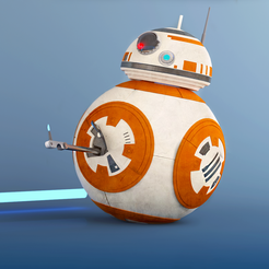 BB8 IG_3.png Download free STL file  Star Wars BB-8 • 3D printing template, sammy3