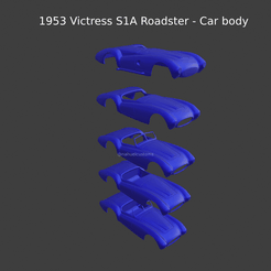 New Project(19).png Download STL file 1953 Victress S1A Roadster - Car body • 3D printable design, ditomaso147