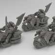 4357378-rw.png Download STL file Angel Wing Dark biker knights • 3D printer template, KarnageKing