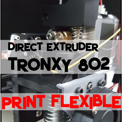 Preview_Title_Tronxy_Direct.png Download free SCAD file Tronxy p802e Direct Extruder X-Carriage • 3D print model, trg3dp