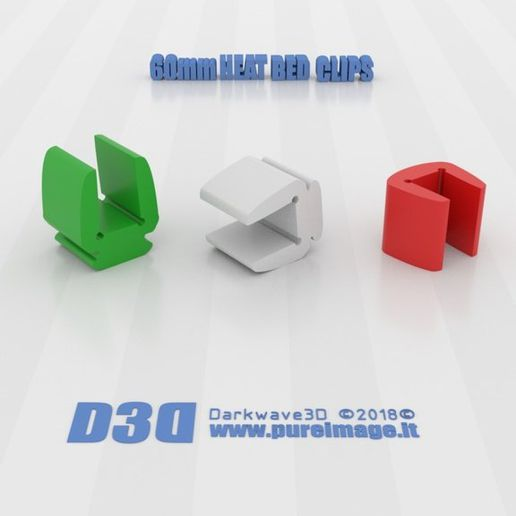 ce638073c34304c9a798782f62c8c25d_display_large.jpg Download free STL file Mini Clips for 60mm Heat Bed • 3D printing template, darkwave3d