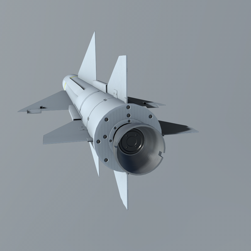 02b.png Download 3DS file Matra 530 Air to Air Missile • 3D printable model, SimonTGriffiths