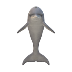 Dolphin1.png Download free STL file Real Dolphin • 3D printing design, walidemad