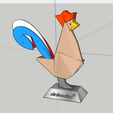 2018-01-01_14h50_55.png Download free STL file rooster (#STRATOMAKER contest) • 3D print object, 0rion