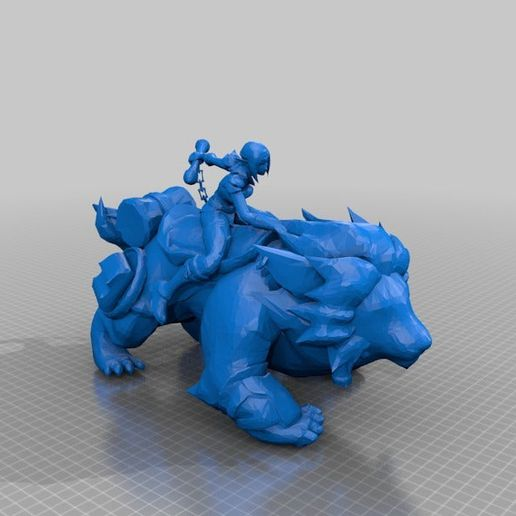 e71b941e7da147a59df248b203af1ebe.png Download free STL file League of Legends Champion and Skin Collection • 3D printing object, MateoCG3D