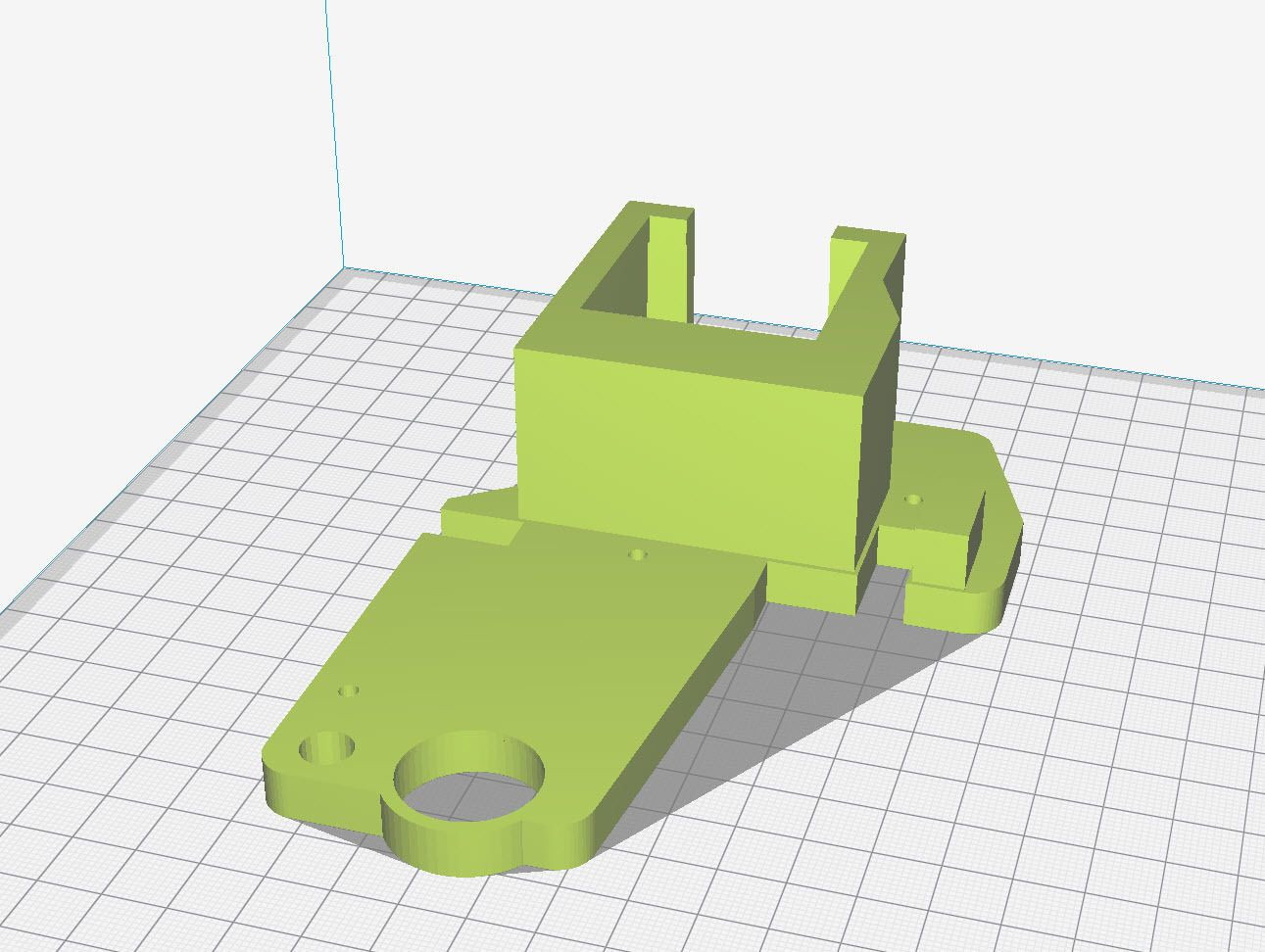 2018-06-04_17-44-41.jpg Download free STL file Top Right Bowden w/o mSD Mount • Object to 3D print, Concept-D
