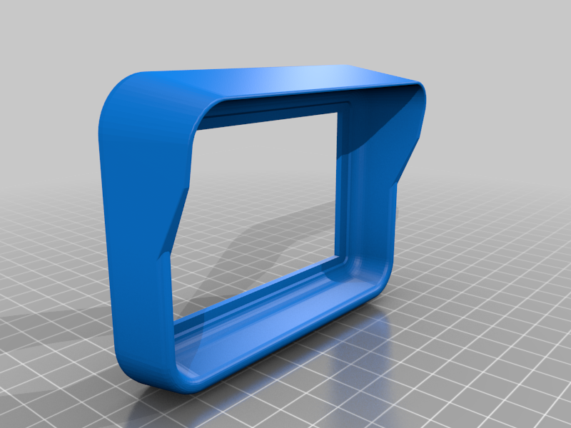 """bezel.png Download free STL file Fallout Wall Style Termal Case to hold Raspberry PI & 3.5"""" Screen Vented • 3D printable model, BigMrTong"""
