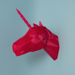Capture d'écran 2017-01-18 à 12.24.22.png Download free STL file Unicorn Head • 3D printer object, Atomicosstudio