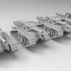 untitled.396.jpg Download free STL file Epic Scale Malcador Heavy Tank • 3D printer template, Mkhand_Industries