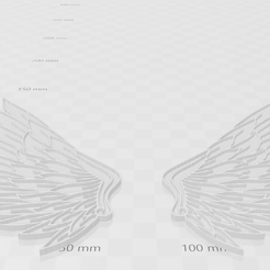 alas 2a.png Download free 3MF file WINGS • 3D printing template, hassesino