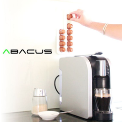 Capture_d__cran_2015-10-20___15.00.19.png Download free STL file Abacus | Nespresso Coffee Pod Rack • 3D printing object, Avooq