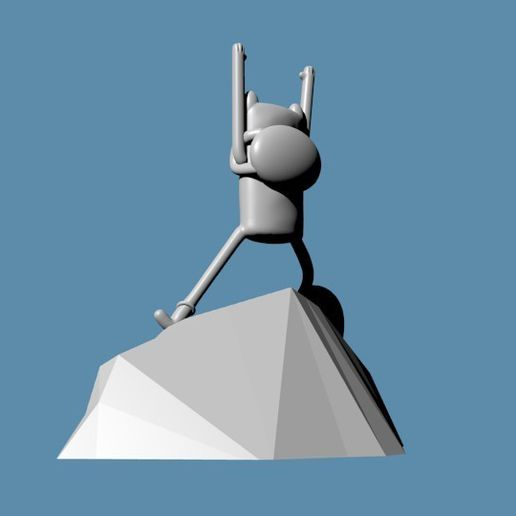 CULTS3.jpg Download free STL file Adventure Time OP • Model to 3D print, Faustisimo