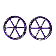 Dr_Finkelstein_Wheels.stl Download free STL file Dr. Finkelstein - The Nightmare Before Christmas • Template to 3D print, mag-net