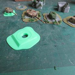 IMG_2437.JPG Download free STL file Turret Bunker for Panther or Tiger1 • 3D printer template, jerrycon