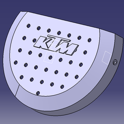 protege carter embrayage catia ss initiale.png Download STL file KTM/HUSQVARNA clutch cover 250/300 sx/exc/tpe 2008-2016 • 3D printing object, Qtdu12